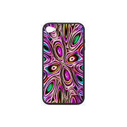 Peacock Strut I - Jera Nour Rubber Case for iPhone 4/4s