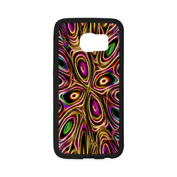 Peacock Strut II - Jera Nour Rubber Case for Samsung Galaxy S6 Edge