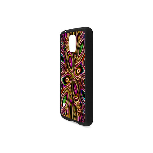 Peacock Strut II - Jera Nour Rubber Case for Samsung Galaxy S5