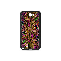 Peacock Strut II - Jera Nour Rubber Case for Samsung Galaxy Note 2