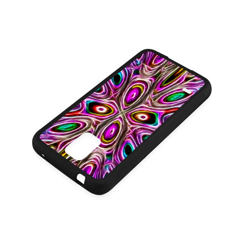 Peacock Strut I - Jera Nour Rubber Case for Samsung Galaxy S5