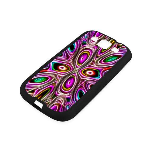 Peacock Strut I - Jera Nour Rubber Case for Samsung Galaxy S3