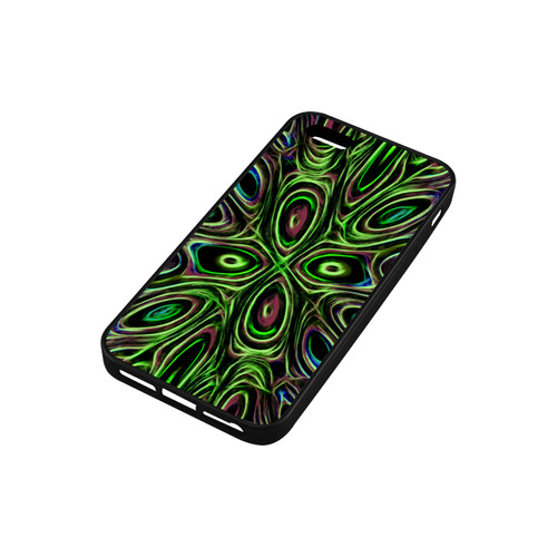 Peacock Strut III - Jera Nour Rubber Case for iPhone SE