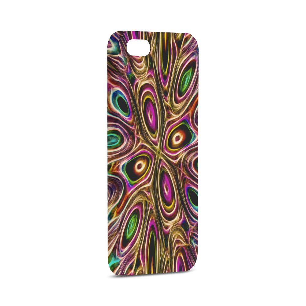 Peacock Strut II - Jera Nour Hard Case for iPhone SE