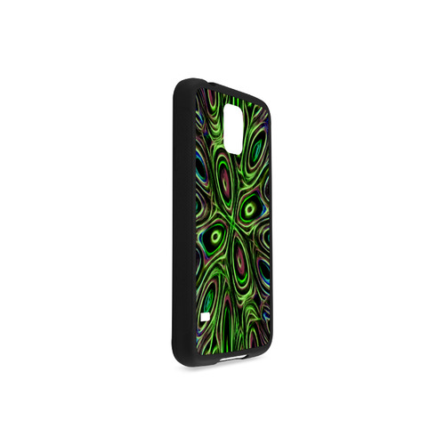 Peacock Strut III - Jera Nour Rubber Case for Samsung Galaxy S5