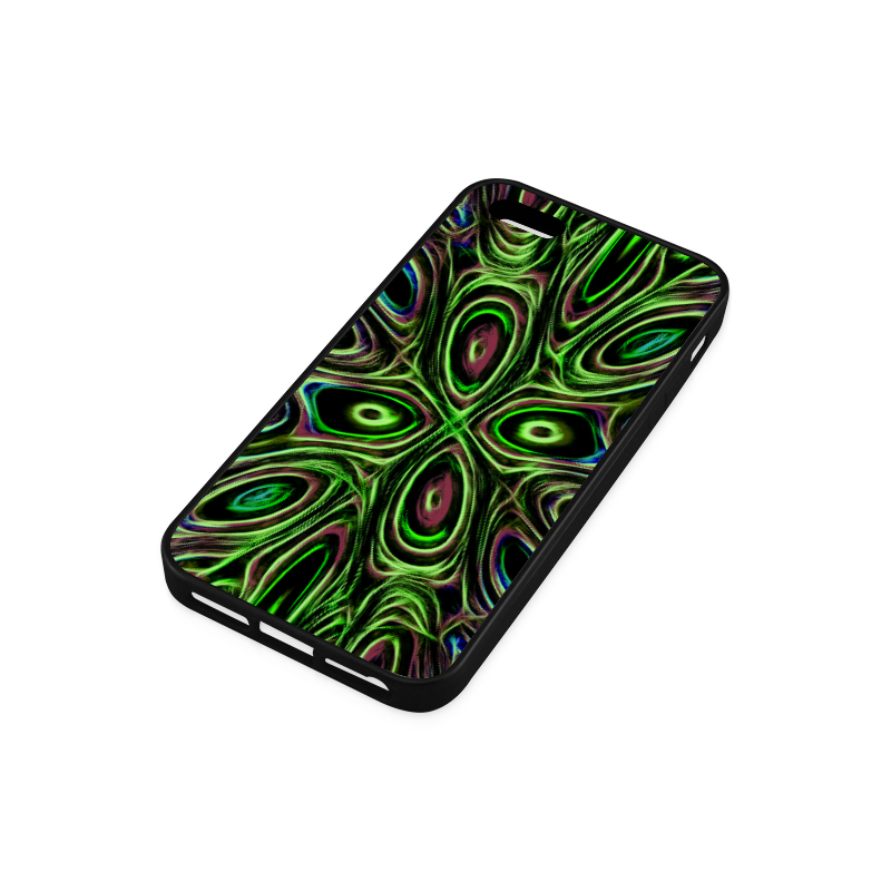 Peacock Strut III - Jera Nour Rubber Case for iPhone 5/5s