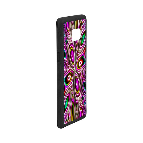 Peacock Strut I - Jera Nour Rubber Case for Samsung Galaxy Note7