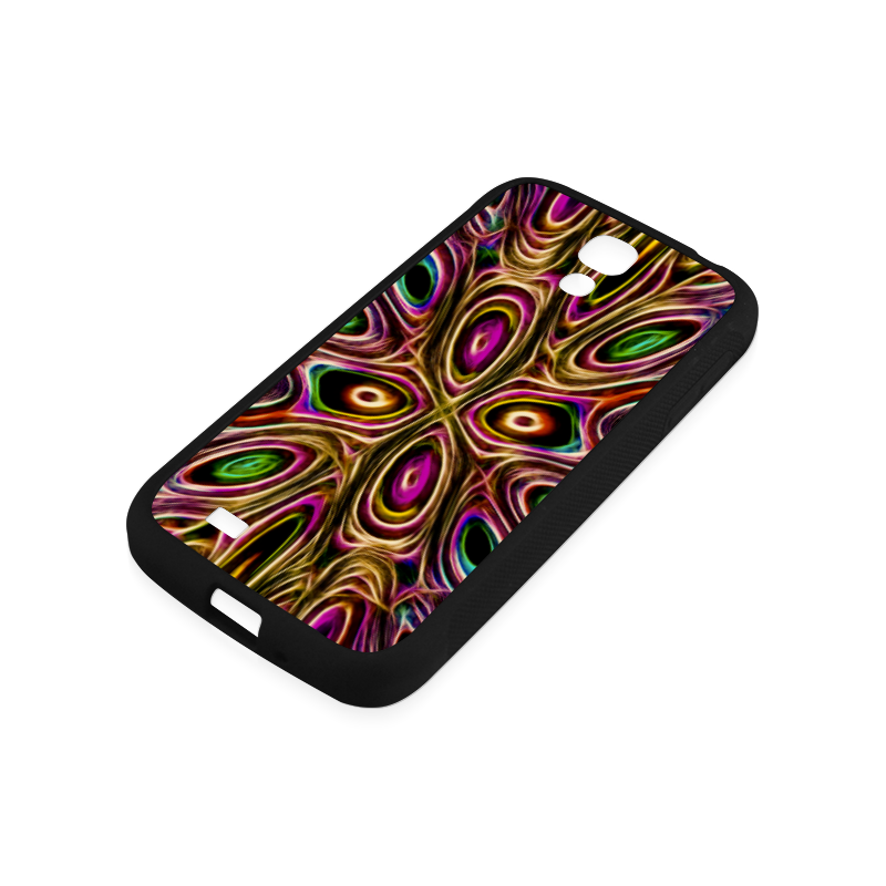 Peacock Strut II - Jera Nour Rubber Case for Samsung Galaxy S4