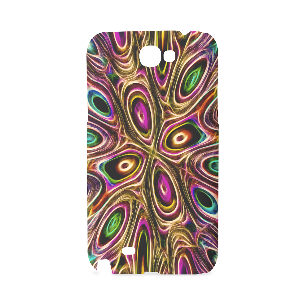 Peacock Strut II - Jera Nour Hard Case for Samsung Galaxy Note 2