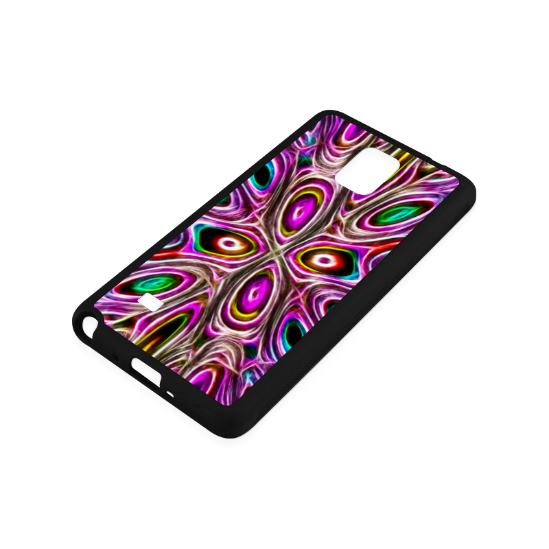 Peacock Strut I - Jera Nour Rubber Case for Samsung Galaxy Note 4