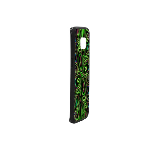 Peacock Strut III - Jera Nour Rubber Case for Samsung Galaxy S7 edge