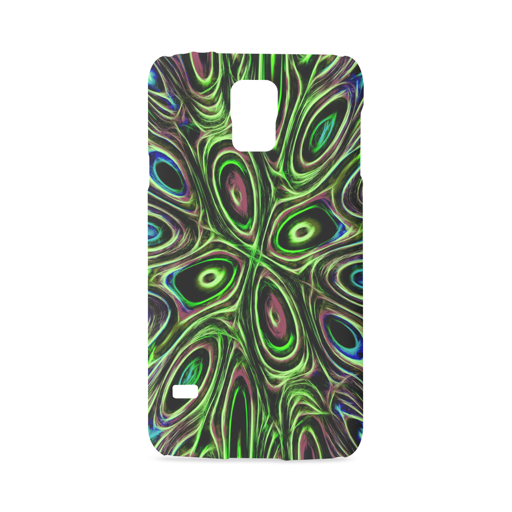 Peacock Strut III - Jera Nour Hard Case for Samsung Galaxy S5