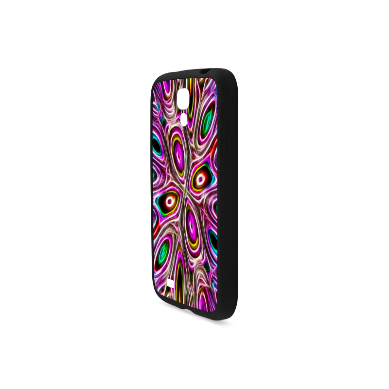 Peacock Strut I - Jera Nour Rubber Case for Samsung Galaxy S4