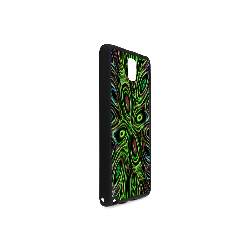 Peacock Strut III - Jera Nour Rubber Case for Samsung Galaxy Note 3