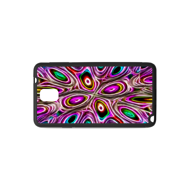 Peacock Strut I - Jera Nour Rubber Case for Samsung Galaxy Note 3