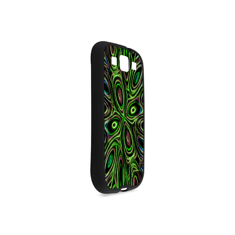 Peacock Strut III - Jera Nour Rubber Case for Samsung Galaxy S3