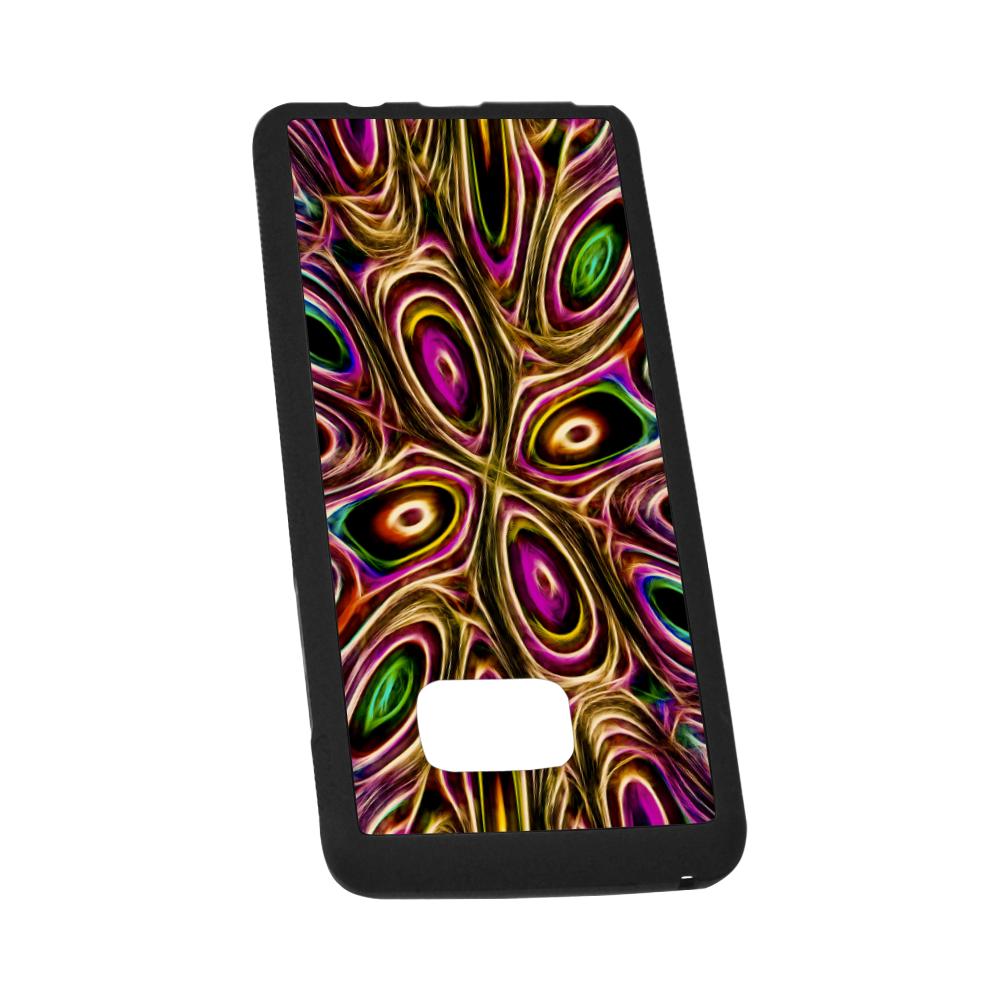 Peacock Strut II - Jera Nour Rubber Case for Samsung Galaxy Note7