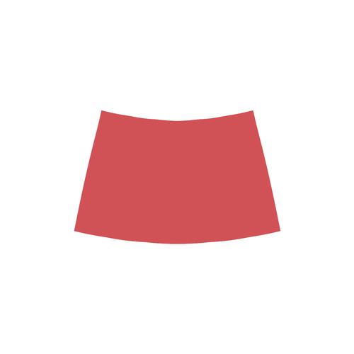 Poppy Red Chryseis Sleeveless Pleated Dress(Model D07)