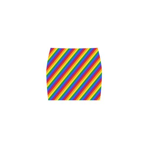 Rainbow Stripes Nemesis Skirt (Model D02)
