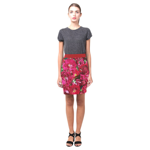 Red Rose Bush Nemesis Skirt (Model D02)