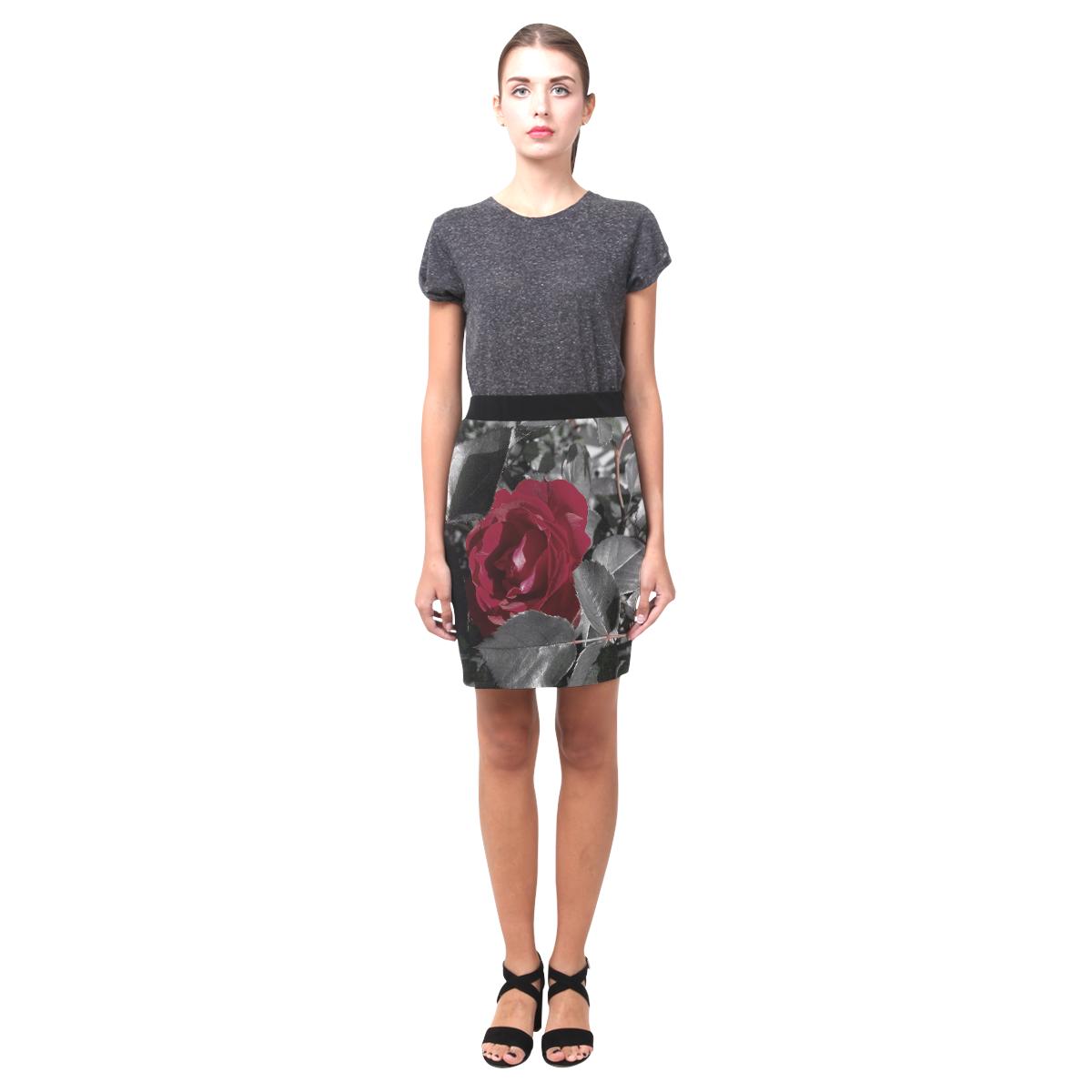 Hued Red Rose Nemesis Skirt (Model D02)