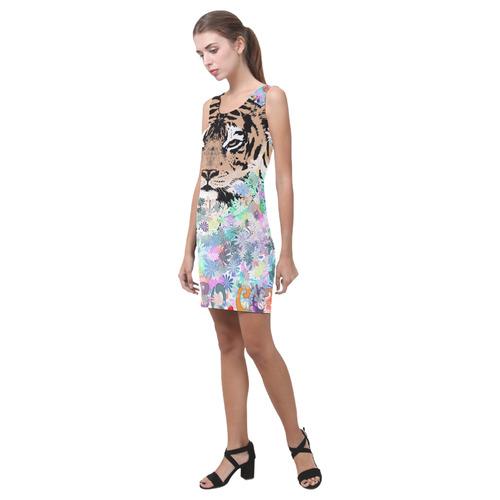 TIGER SWEET DRESS I Medea Vest Dress (Model D06)