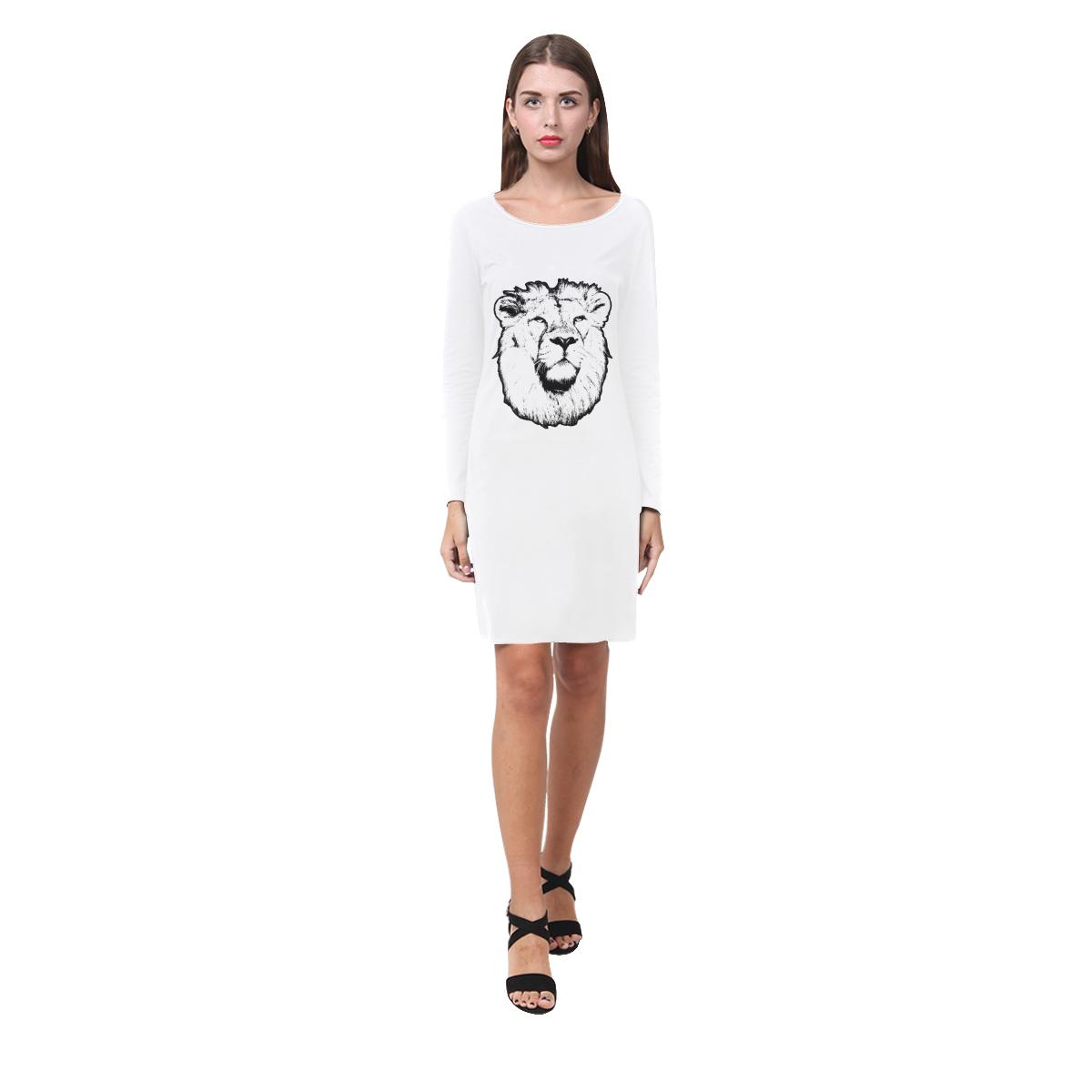 LION II Demeter Long Sleeve Nightdress (Model D03)
