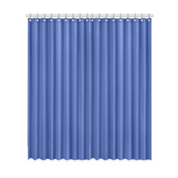"Dazzling Blue Window Curtain 52""x120""(Two Piece)"