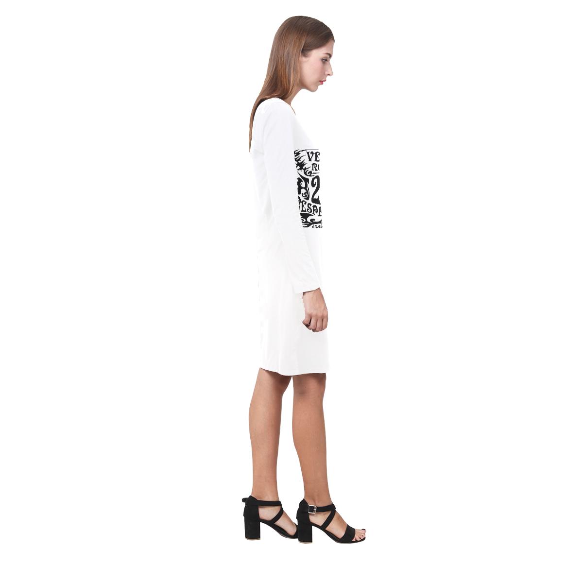VEGAN ROCKT TRIBAL Demeter Long Sleeve Nightdress (Model D03)