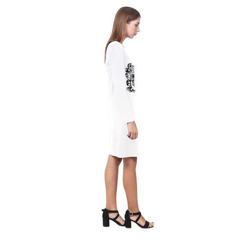 SKULL FILIGRAN Demeter Long Sleeve Nightdress (Model D03)