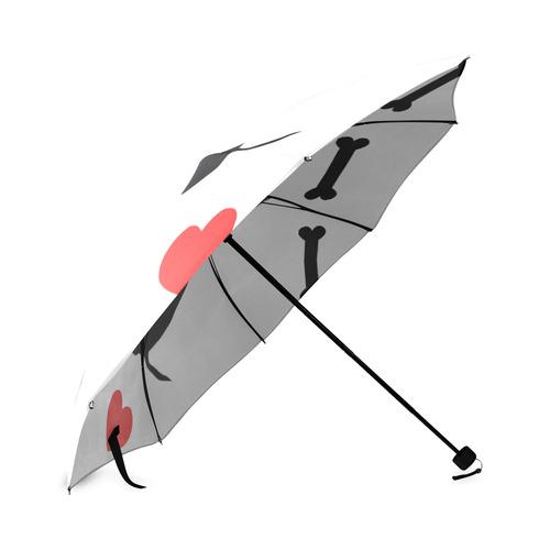 I Love Dogs Foldable Umbrella (Model U01)
