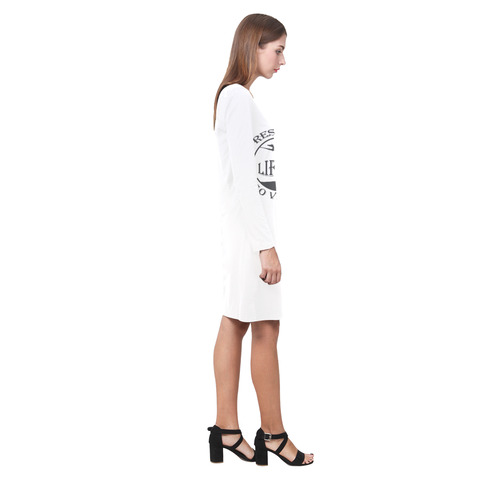 RESPECT LIFE GO VEGAN Demeter Long Sleeve Nightdress (Model D03)