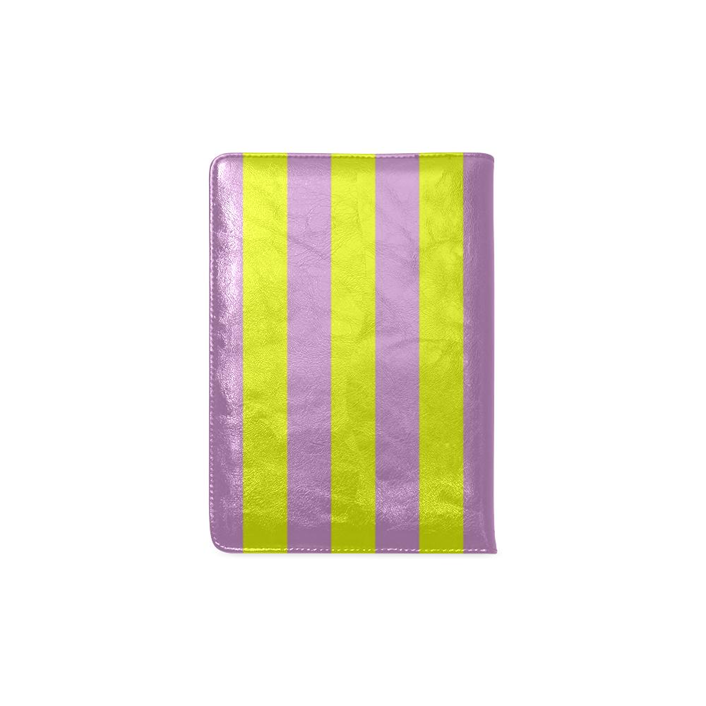 Lavender Stripes Custom NoteBook A5