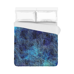 """Cool Rich Jewel Tones Abstract Duvet Cover 86""""x70"""" ( All-over-print)"""