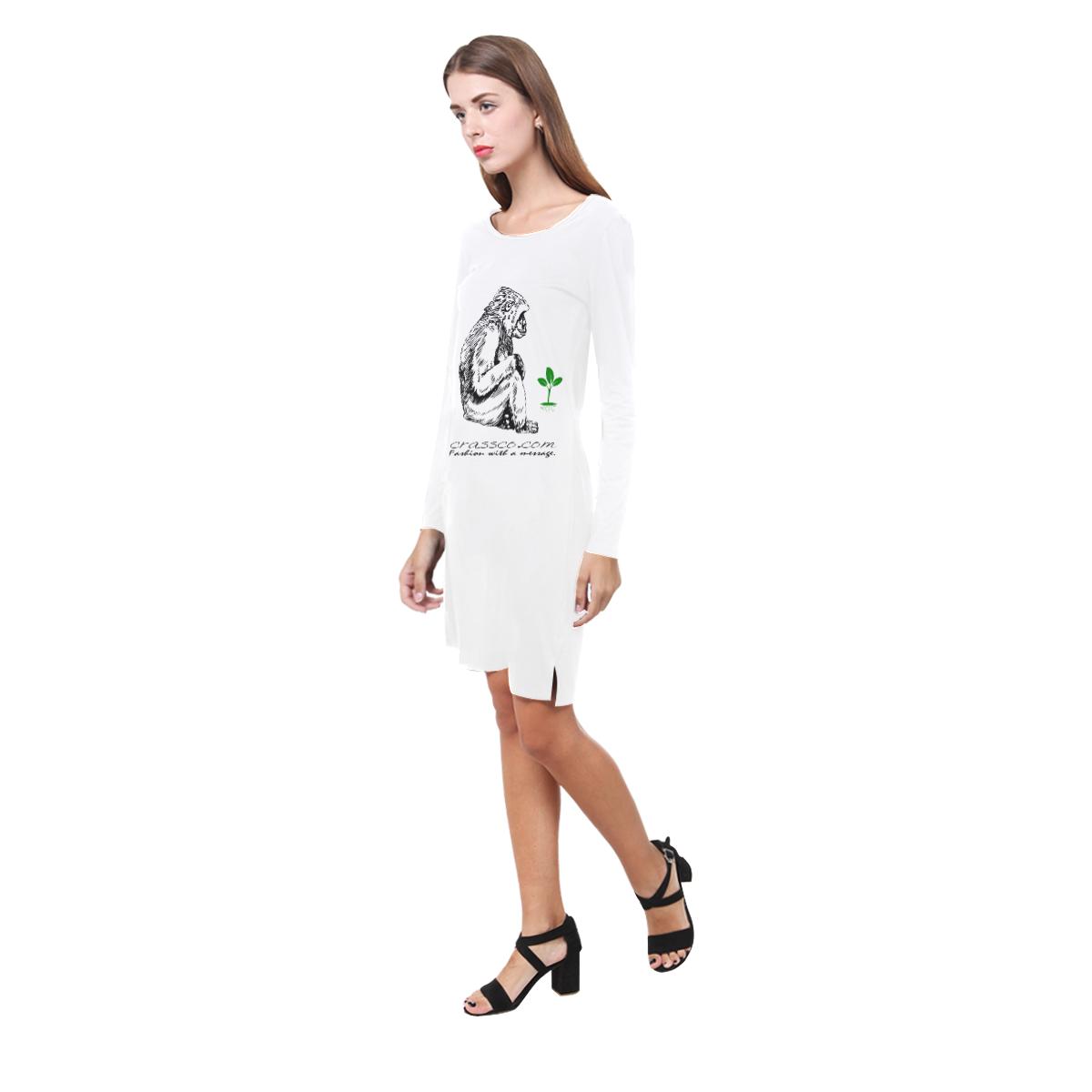 GORILLA with PLANS Demeter Long Sleeve Nightdress (Model D03)