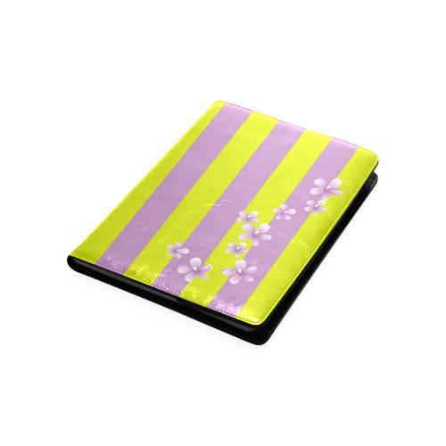 Lavender Stripes Custom NoteBook B5