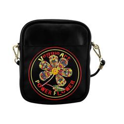 VeggieArt Power Flower Sling Bag (Model 1627)