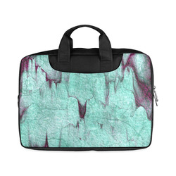 """Rock Castle turquoise, wine red abstract texture Macbook Air 11""""(Two sides)"""