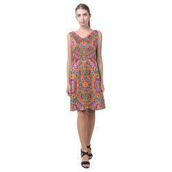 pattern 20160902 Chryseis Sleeveless Pleated Dress(Model D07)