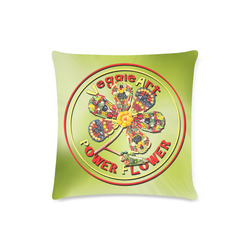 "VeggieArt Power Flower Custom Zippered Pillow Case 16""x16"" (one side)"