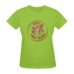 VeggieArt Power Flower Sunny Women's T-shirt (Model T05)