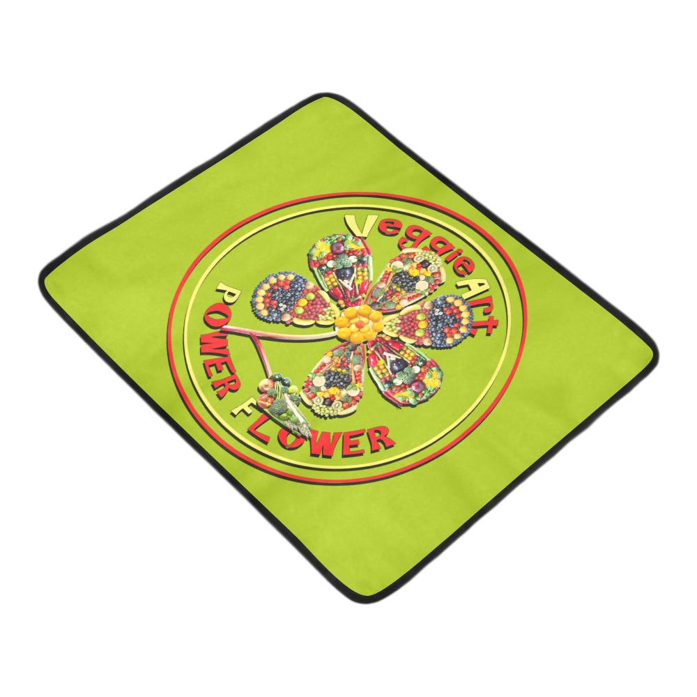 """VeggieArt Power Flower Beach Mat 78""""x 60"""""""