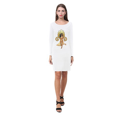Wonderful women, egyptian style Demeter Long Sleeve Nightdress (Model D03)