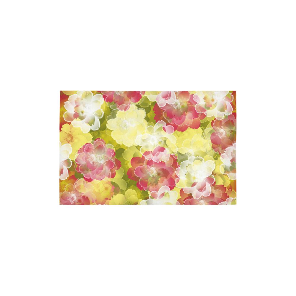 """Flower Power Blossom Area Rug 2'7""""x 1'8''"""