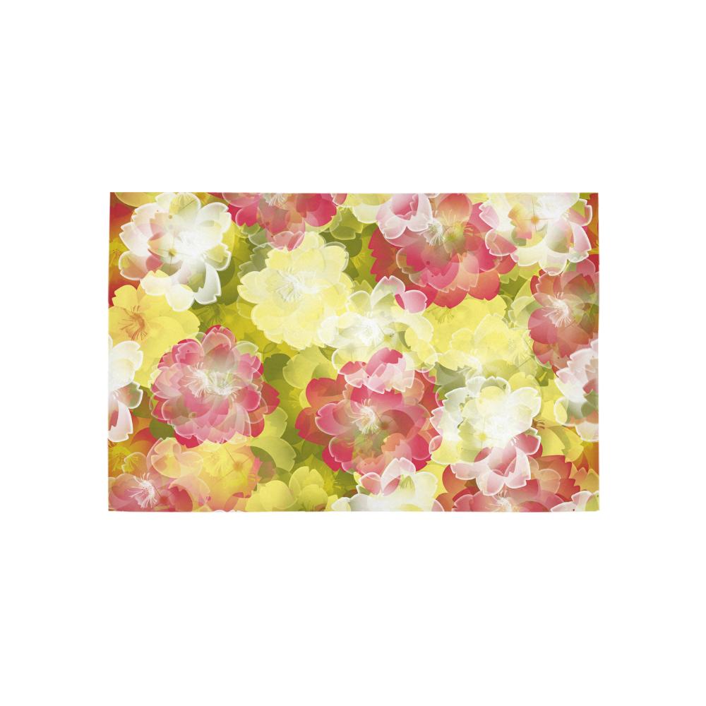Flower Power Blossom Area Rug 5'x3'3''