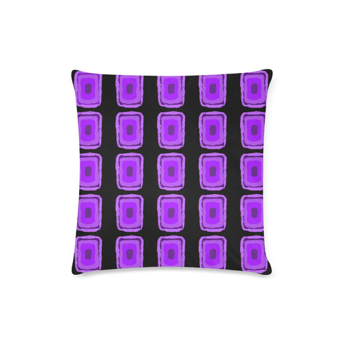 "PURPLE DESTINY Custom Zippered Pillow Case 16""x16""(Twin Sides)"