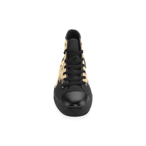 LION Men's Classic High Top Canvas Shoes /Large Size (Model 017)