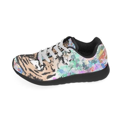 TIGER FLOWERS Men's Running Shoes (Model 020)