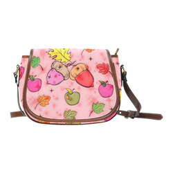 Popart Fall by Popart Lover Saddle Bag/Small (Model 1649) Full Customization