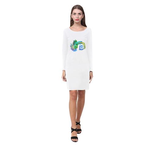like water Demeter Long Sleeve Nightdress (Model D03)